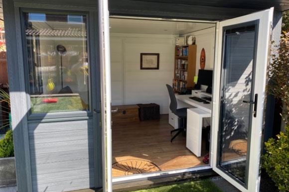 Composite Garden Office Peterborough