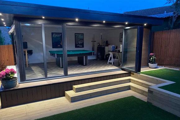 Relaxing Garden Studio Retreats Peterborough
