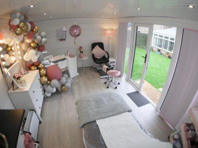 Composite Garden Room Beauticians In Derby Inside Shot 4