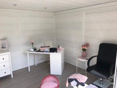 Composite Garden Room Beauticians In Peterborough Inside Shot 2