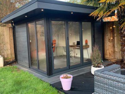 Garden Room In Peterborough, Job Complete