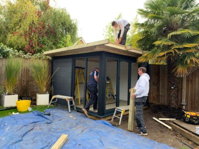 Garden Room In Peterborough, Nearing Completion
